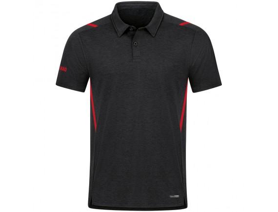 Polo majica Challenge - črna 502