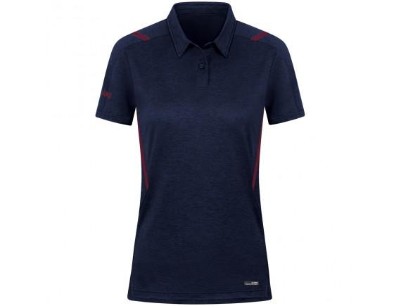 Ženska polo majica Challenge - modra 513