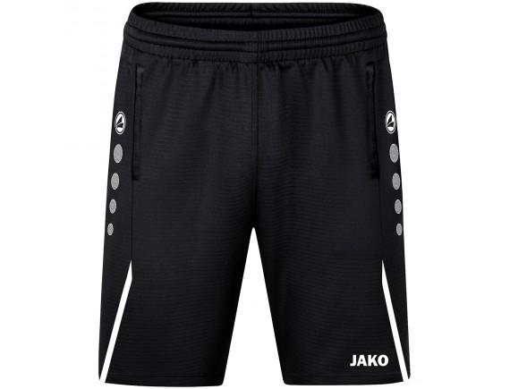Kratke trening hlače Challenge - črne 802