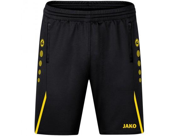 Kratke trening hlače Challenge - črne 803