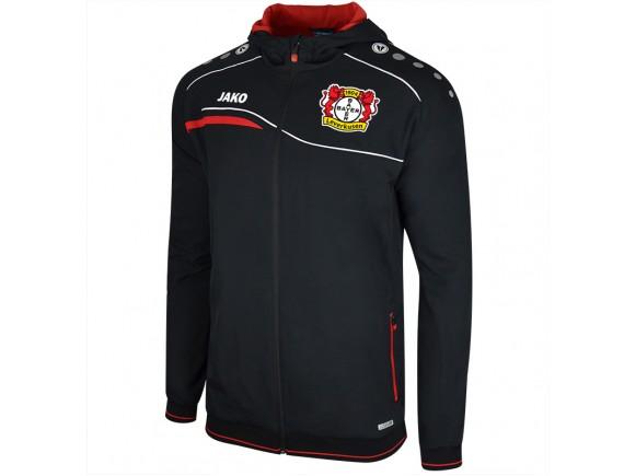 Izhodna jakna s kapuco Bayer 04 Leverkusen 2018