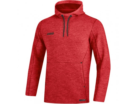 Pulover s kapuco Premium Basics - rdeč 01