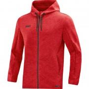 Jakna s kapuco Premium Basics - rdeča 01