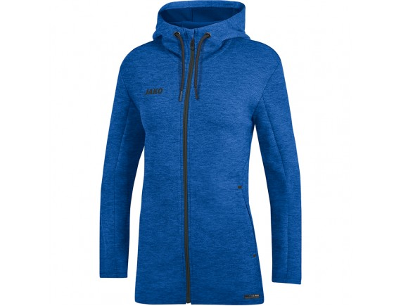 Ženska jakna s kapuco Premium Basics - modra 04