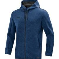 Jakna s kapuco Premium Basics - modra 49