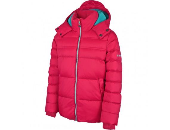 Dekliška zimska bunda s kapuco